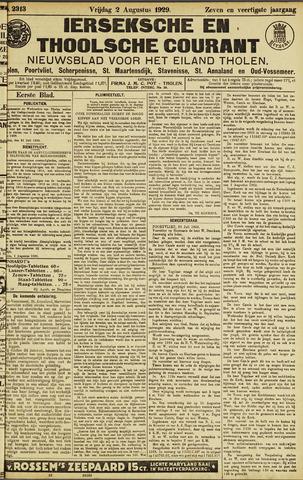 Ierseksche en Thoolsche Courant 1929-08-02