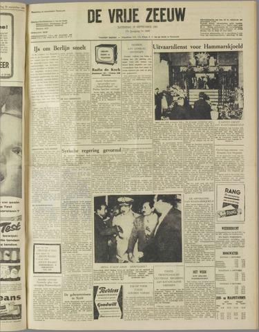 de Vrije Zeeuw 1961-09-30