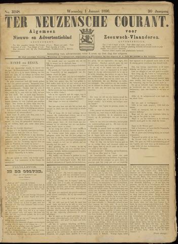 Ter Neuzensche Courant. Algemeen Nieuws- en Advertentieblad voor Zeeuwsch-Vlaanderen / Neuzensche Courant ... (idem) / (Algemeen) nieuws en advertentieblad voor Zeeuwsch-Vlaanderen 1896