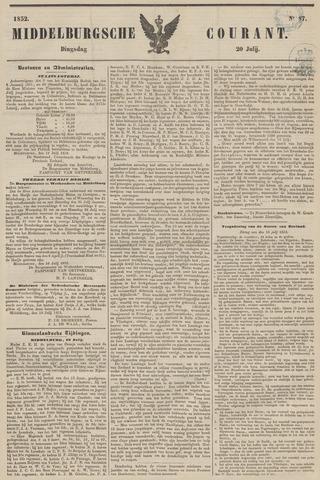 Middelburgsche Courant 1852-07-20