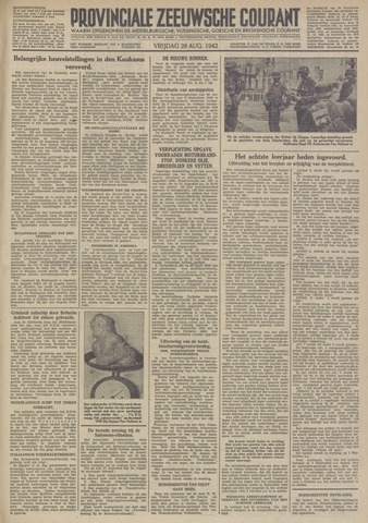 Provinciale Zeeuwse Courant 1942-08-28