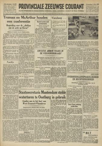 Provinciale Zeeuwse Courant 1950-10-11