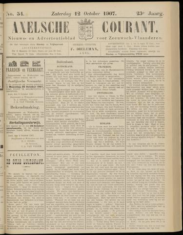 Axelsche Courant 1907-10-12