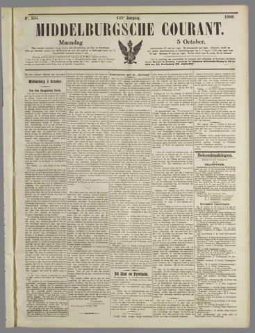 Middelburgsche Courant 1908-10-05