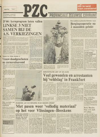 Provinciale Zeeuwse Courant 1974-02-25