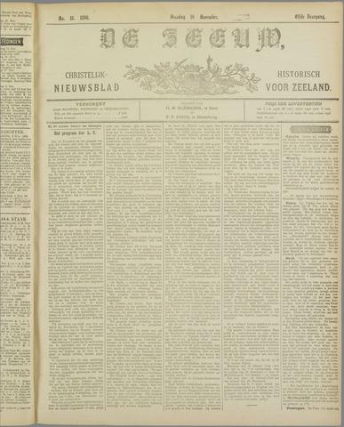 De Zeeuw. Christelijk-historisch nieuwsblad voor Zeeland 1896-11-10