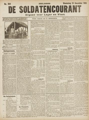 De Soldatencourant. Orgaan voor Leger en Vloot 1916-12-13
