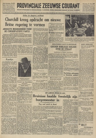 Provinciale Zeeuwse Courant 1951-10-27