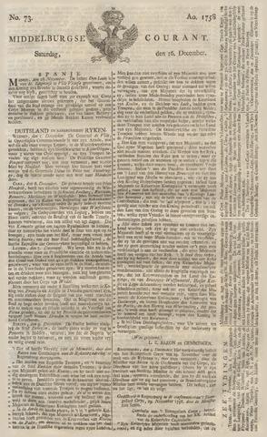 Middelburgsche Courant 1758-12-16