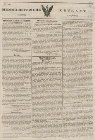 Middelburgsche Courant 1844-09-07