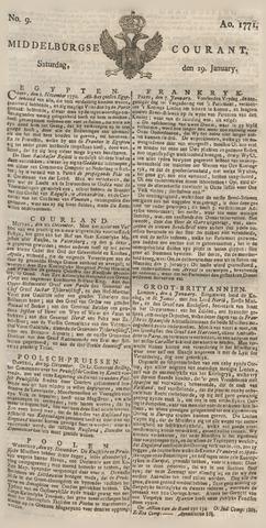 Middelburgsche Courant 1771-01-19