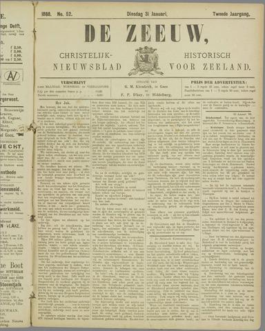 De Zeeuw. Christelijk-historisch nieuwsblad voor Zeeland 1888-01-31