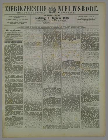 Zierikzeesche Nieuwsbode 1903-08-06
