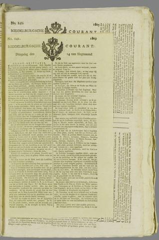 Middelburgsche Courant 1809-11-14