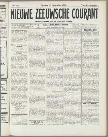 Nieuwe Zeeuwsche Courant 1906-09-29