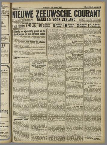 Nieuwe Zeeuwsche Courant 1923-03-14