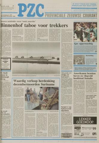 Provinciale Zeeuwse Courant 1992-12-09