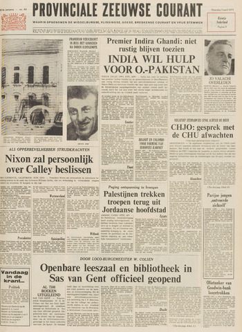 Provinciale Zeeuwse Courant 1971-04-05