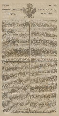 Middelburgsche Courant 1775-10-10