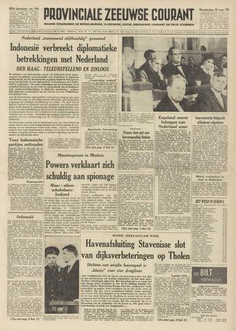Provinciale Zeeuwse Courant 1960-08-18