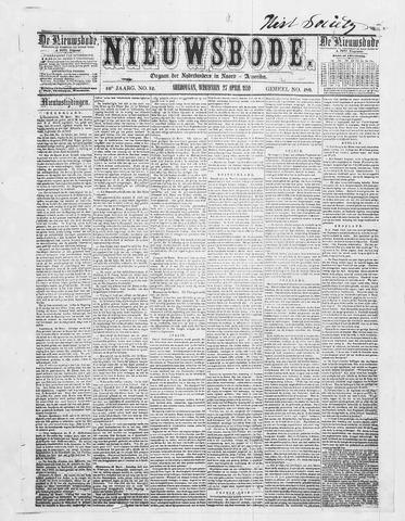 Sheboygan Nieuwsbode 1859-04-27