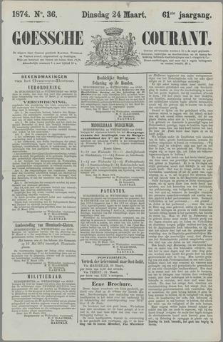 Goessche Courant 1874-03-24