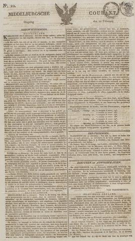 Middelburgsche Courant 1827-02-20