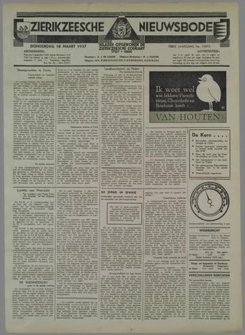 Zierikzeesche Nieuwsbode 1937-03-18