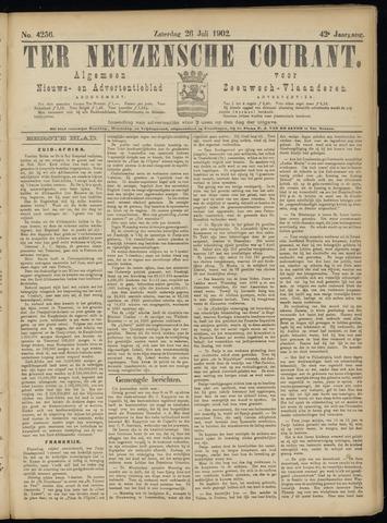 Ter Neuzensche Courant. Algemeen Nieuws- en Advertentieblad voor Zeeuwsch-Vlaanderen / Neuzensche Courant ... (idem) / (Algemeen) nieuws en advertentieblad voor Zeeuwsch-Vlaanderen 1902-07-26
