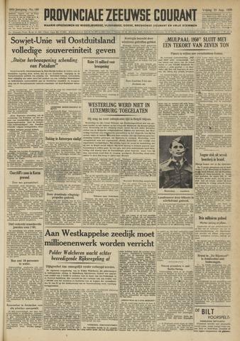 Provinciale Zeeuwse Courant 1950-08-25
