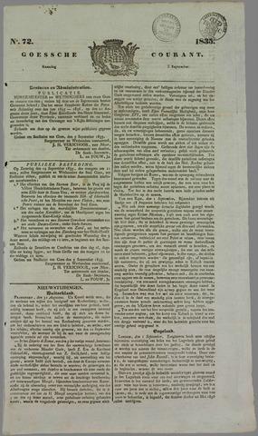 Goessche Courant 1835-09-07