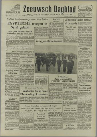 Zeeuwsch Dagblad 1957-10-14