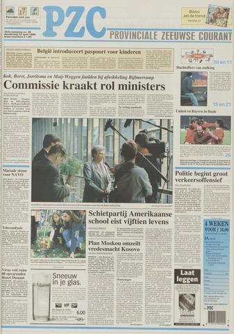 Provinciale Zeeuwse Courant 1999-04-22