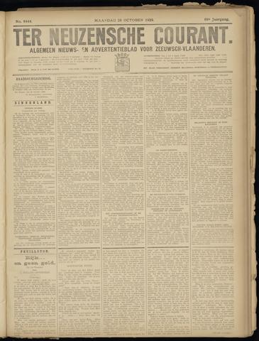 Ter Neuzensche Courant. Algemeen Nieuws- en Advertentieblad voor Zeeuwsch-Vlaanderen / Neuzensche Courant ... (idem) / (Algemeen) nieuws en advertentieblad voor Zeeuwsch-Vlaanderen 1929-10-28