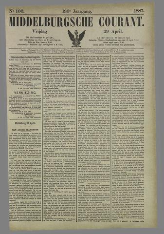 Middelburgsche Courant 1887-04-29