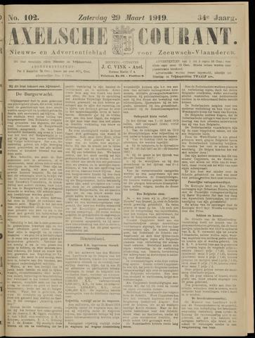 Axelsche Courant 1919-03-29