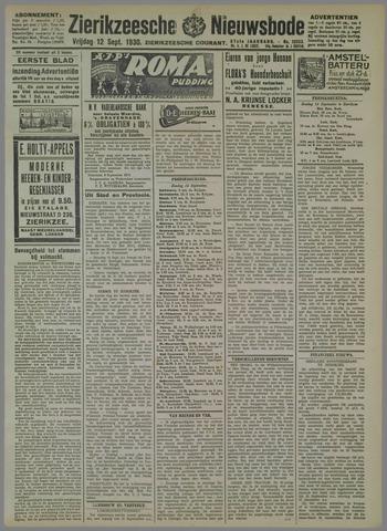 Zierikzeesche Nieuwsbode 1930-09-12