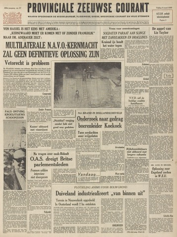 Provinciale Zeeuwse Courant 1963-03-08