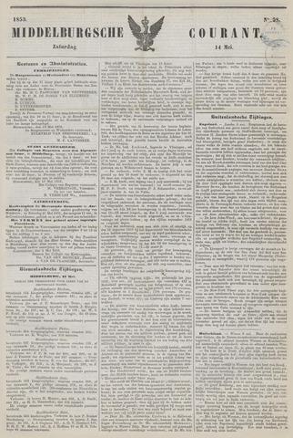 Middelburgsche Courant 1853-05-14