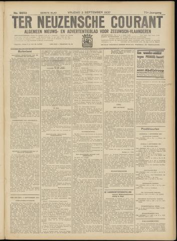 Ter Neuzensche Courant. Algemeen Nieuws- en Advertentieblad voor Zeeuwsch-Vlaanderen / Neuzensche Courant ... (idem) / (Algemeen) nieuws en advertentieblad voor Zeeuwsch-Vlaanderen 1937-09-03