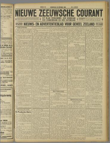 Nieuwe Zeeuwsche Courant 1926-10-28