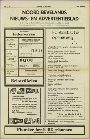 Noord-Bevelands Nieuws- en advertentieblad 1960-07-16