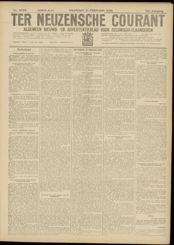 Ter Neuzensche Courant. Algemeen Nieuws- en Advertentieblad voor Zeeuwsch-Vlaanderen / Neuzensche Courant ... (idem) / (Algemeen) nieuws en advertentieblad voor Zeeuwsch-Vlaanderen 1938-02-21