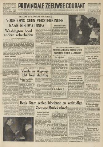 Provinciale Zeeuwse Courant 1962-03-05