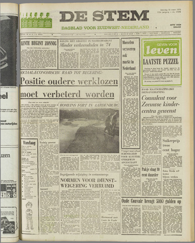 de Stem 1975-03-22