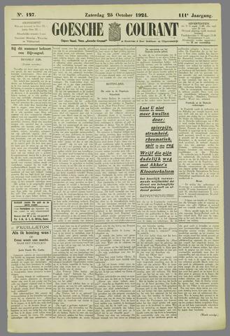 Goessche Courant 1924-10-25