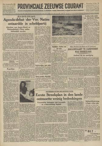 Provinciale Zeeuwse Courant 1951-11-14