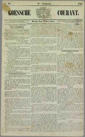 Goessche Courant 1861-12-19