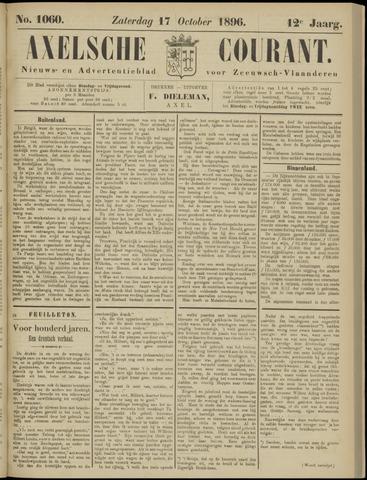 Axelsche Courant 1896-10-17