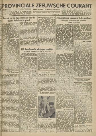 Provinciale Zeeuwse Courant 1944-02-24